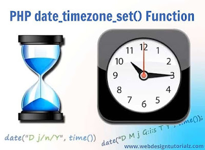 PHP date_timezone_set() Function