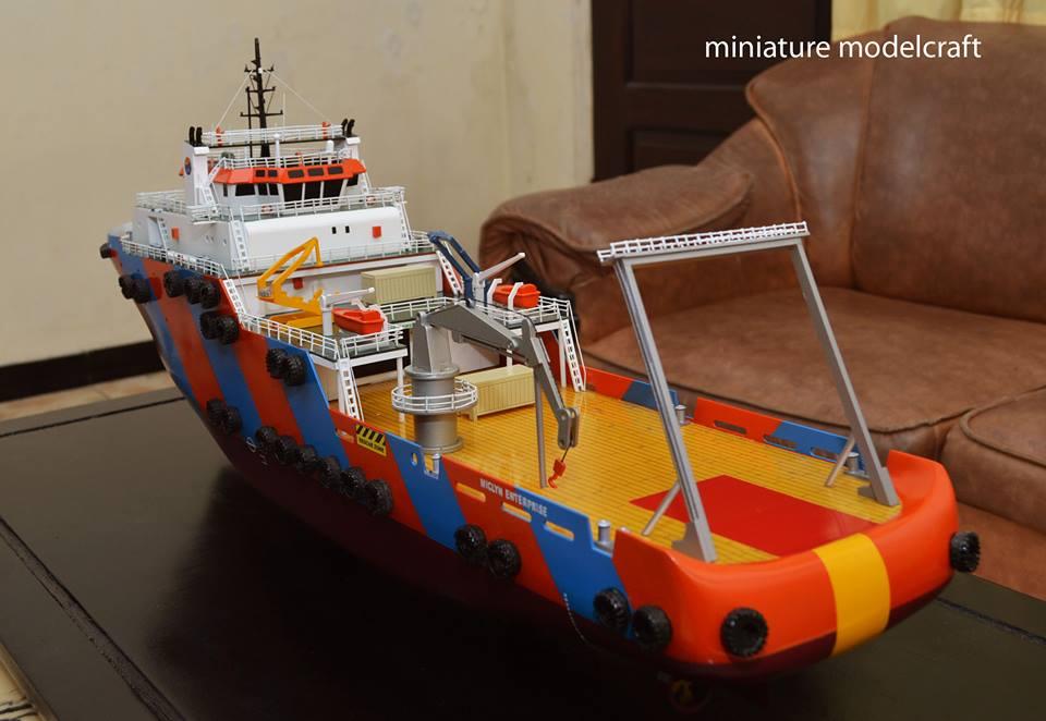 jual miniatur kapal miclyn enterprise meo group singapore terpercaya jakarta surabaya indonesia
