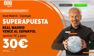 888sport superapuesta Espanyol vs Real Madrid 27 enero 2019