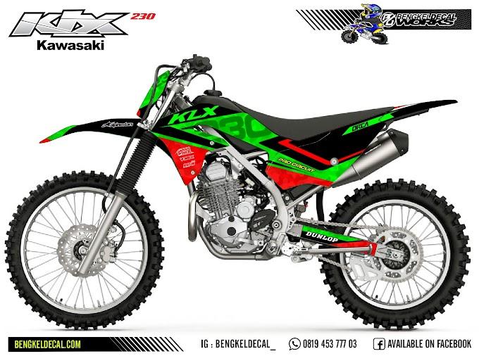 KLX 230R - HIJAU
