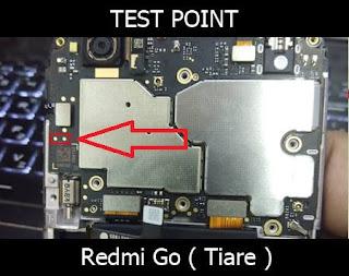 test point redmi go tiare