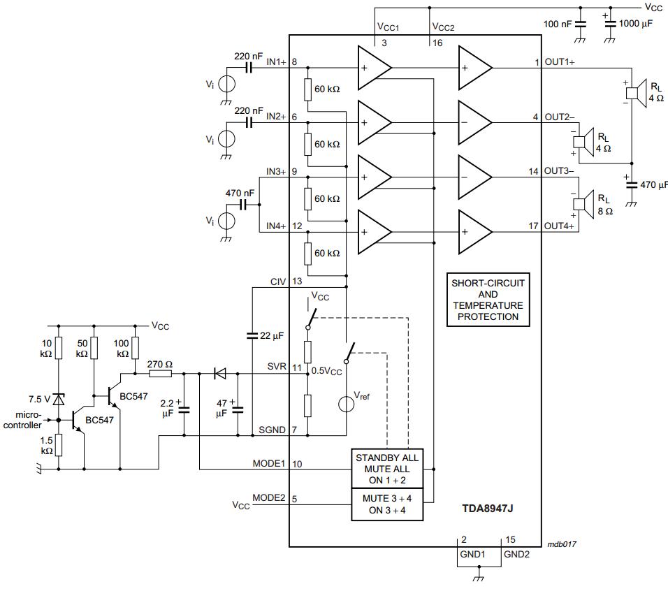 3-channel audio amplifier ~ AmplifierCircuits.com