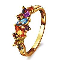 cincin pertunangan emas