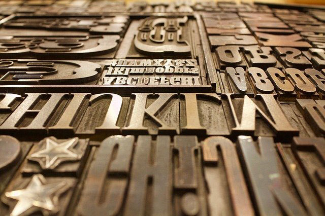 tipografia photoshop