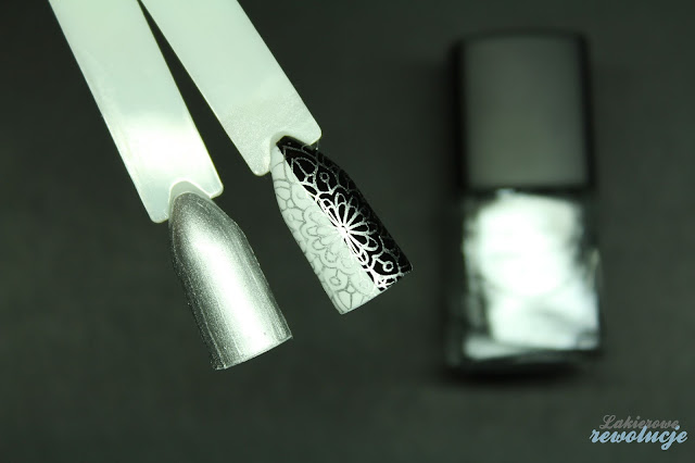 silver stamping polish - new