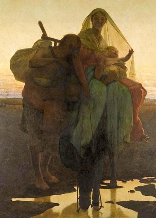 Fuga para o Egito - Almeida Júnior e suas principais pinturas ~ brasileiro