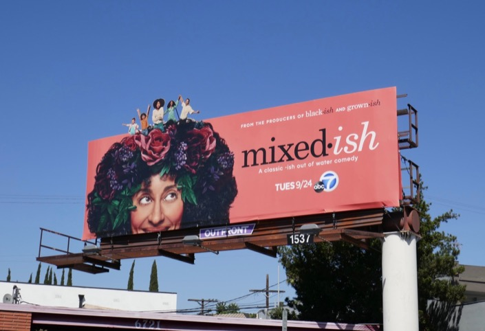 Mixed-ish extension cut-out billboard