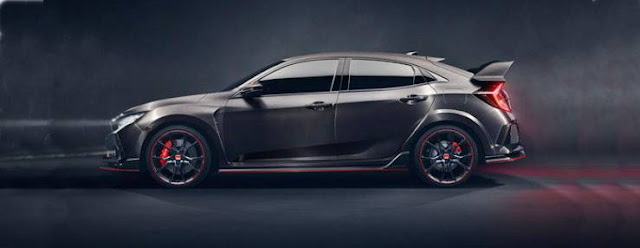 2017 Honda Civic Type R Concept Revealed at Paris Motor Show