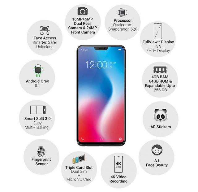 Handphone Vivo V9