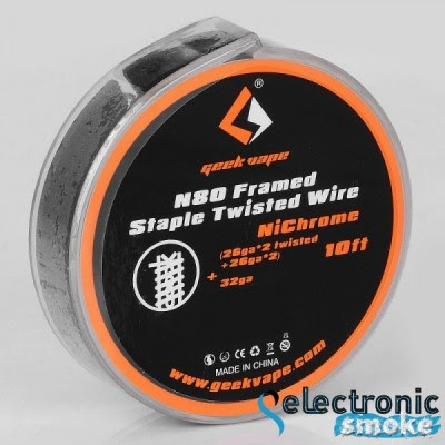 N80 Framed Staple Twisted Wire 10 ft