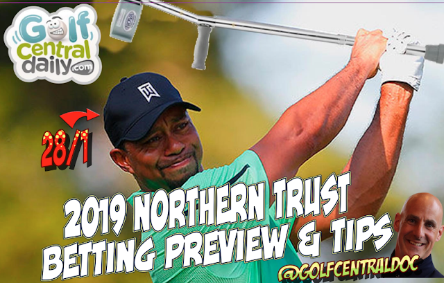 2019 Northern Trust Draft Kings Picks