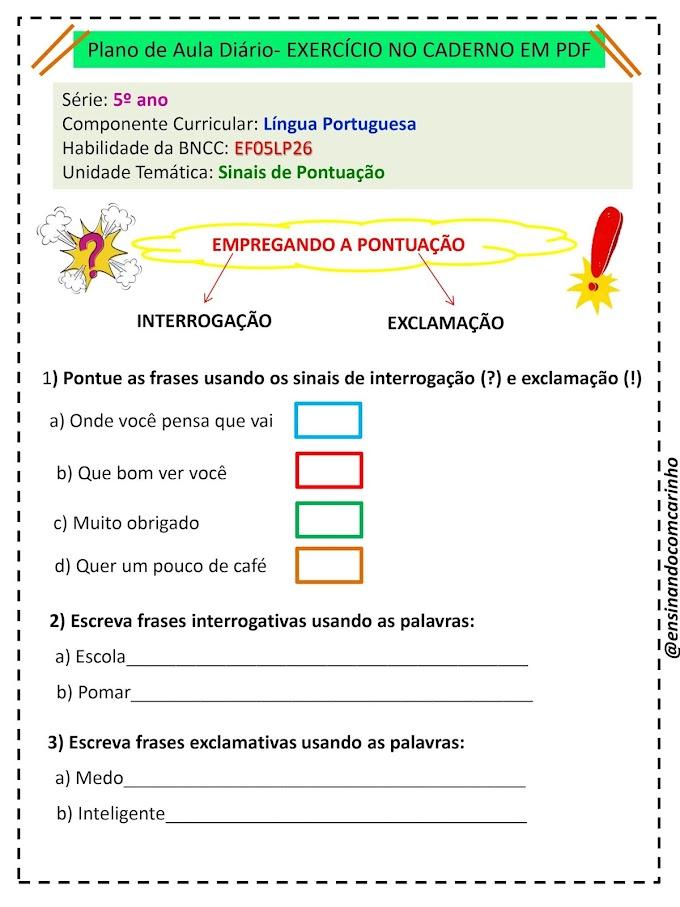 Pacote de planos de aula para o ensino fundamental de acordo com a BNCC