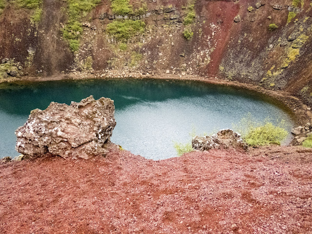 Self-drive around Iceland's Golden Circle: Kerið Crater Lake