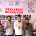 Deklarasi Jargon CAP MAU Relawan Mahyeldi-Audy Kab. Pasaman