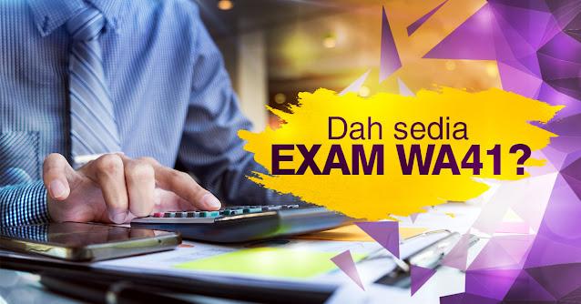 Rujukan Peperiksaan Online PSEE Akauntan Gred WA41