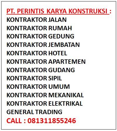 Daftar Kontraktor Terbesar Di Indonesia