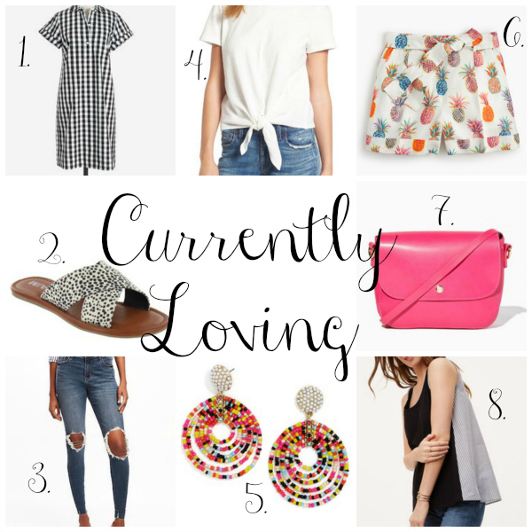 what i am currently loving, style on a budget, summer style, mom style, wish list