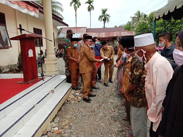 Baitul Mal Aceh Barat Salurkan Zakat Untuk 647 Fakir Miskin Di Sungai Mas