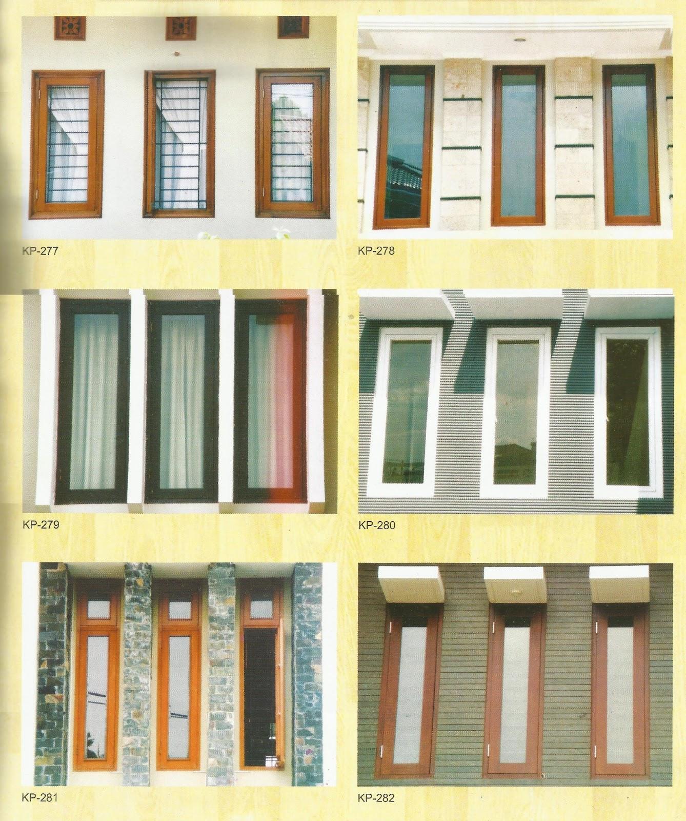 berbagai model jendela minimalis referensi rumah