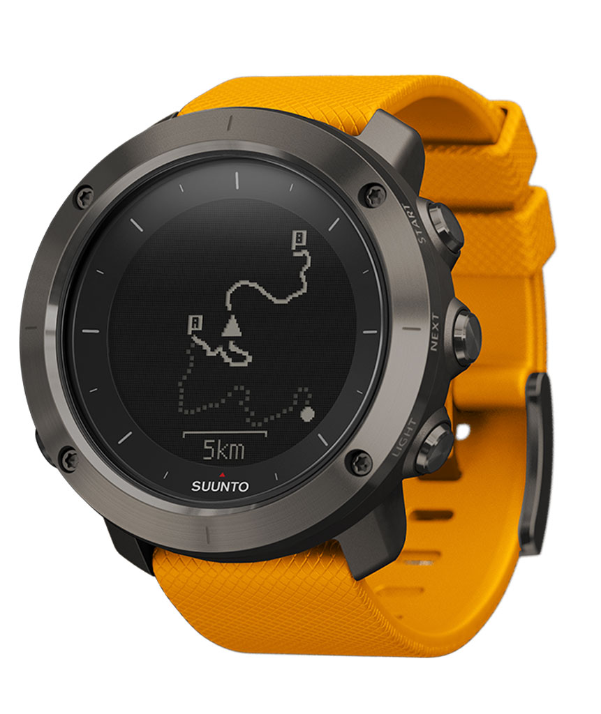 Suunto Traverse, Orologio GPS per l'Outdoor, Ambra