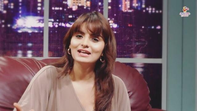 Gandi Baat hot actress Anveshi Jain neeta bhabhi navel show