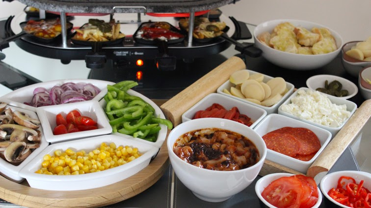 how to clean a marble raclette grill