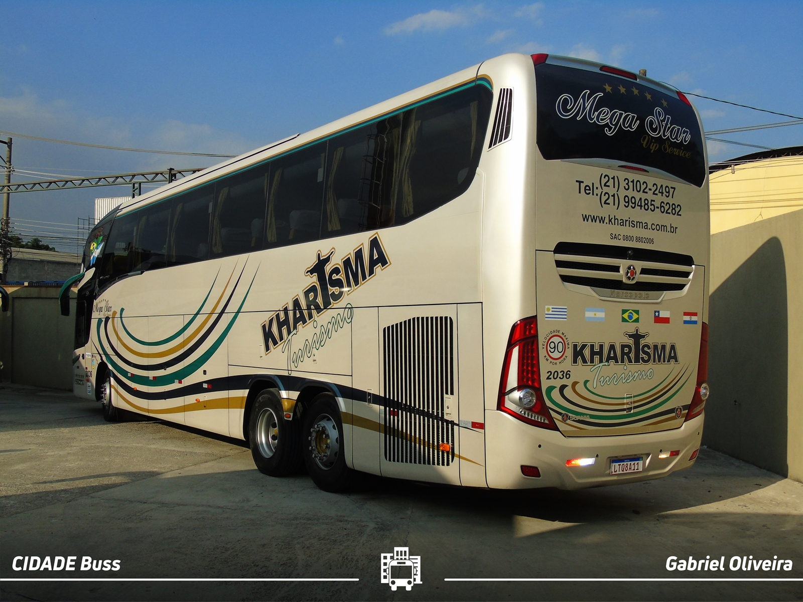 Ônibus da Marcopolo