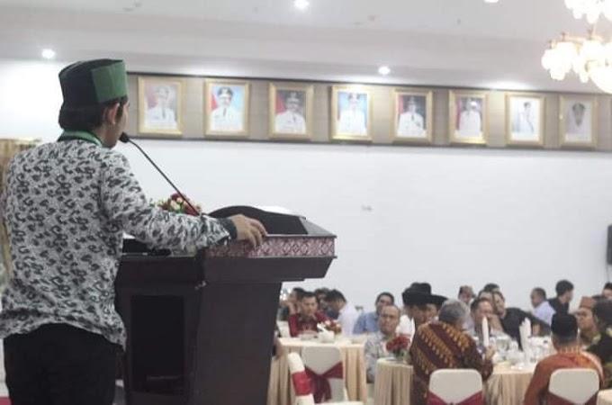 PJ Ketua Umum HMI Cabang Padang, Sampaikan Selamat Mengukiti Training Lk III Kepada Kader HMI Cabang Padang