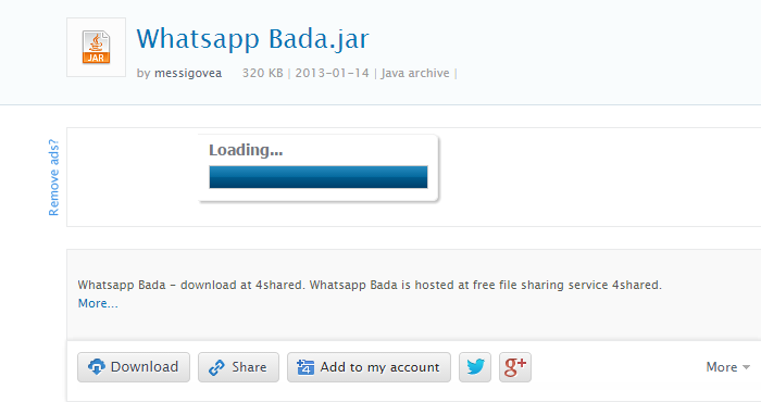 download whatsapp for samsung bada