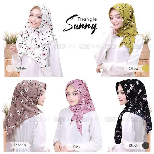 Jilbab Instan Segi Tiga instan Sunny Vayza
