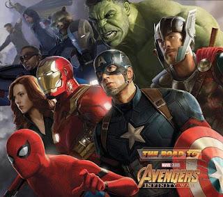 Road To Infinity War MoviePush