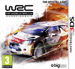 WRC: FIA World Rally Championship, 3ds, español