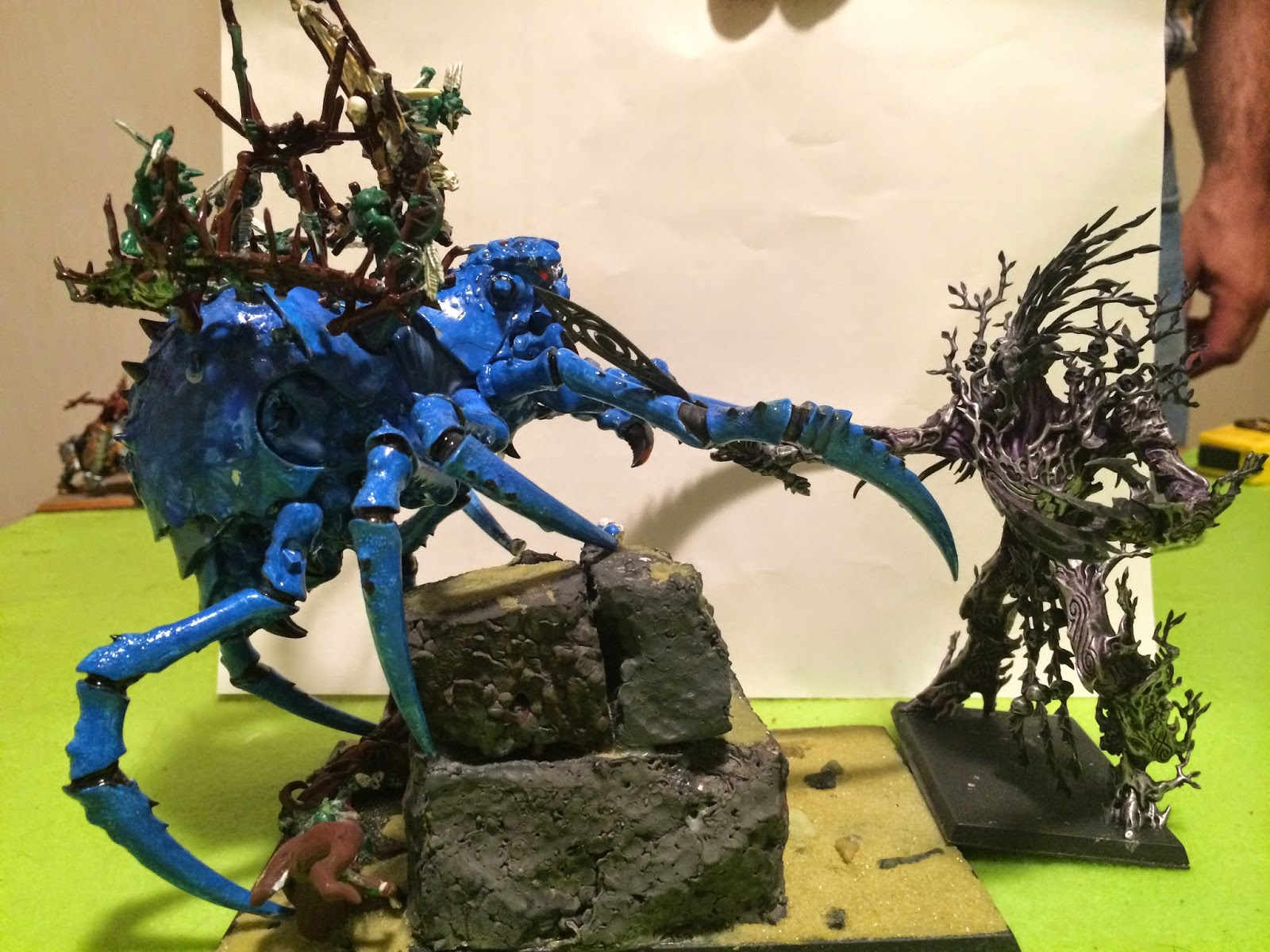 Starving Crazed Weasels Miniatures And Wargames Page Orcs And