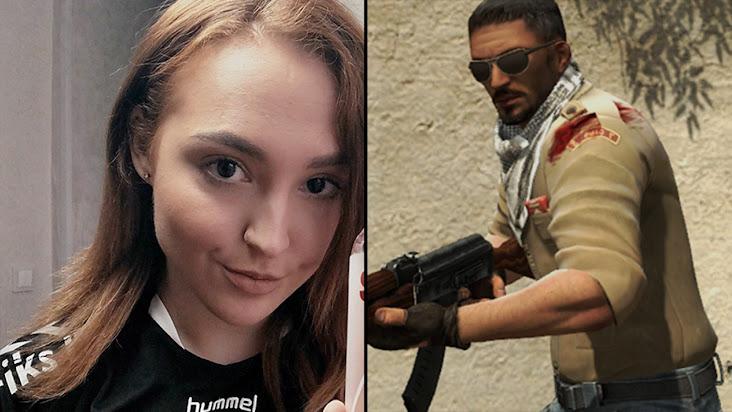 [CS:GO] Nữ game thủ người Nga ''hứng gạch'' vì có những lời lẽ phân biệt chủng tộc