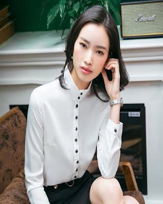 Outfits con blusa MANGA LARGA creativos y con estilo