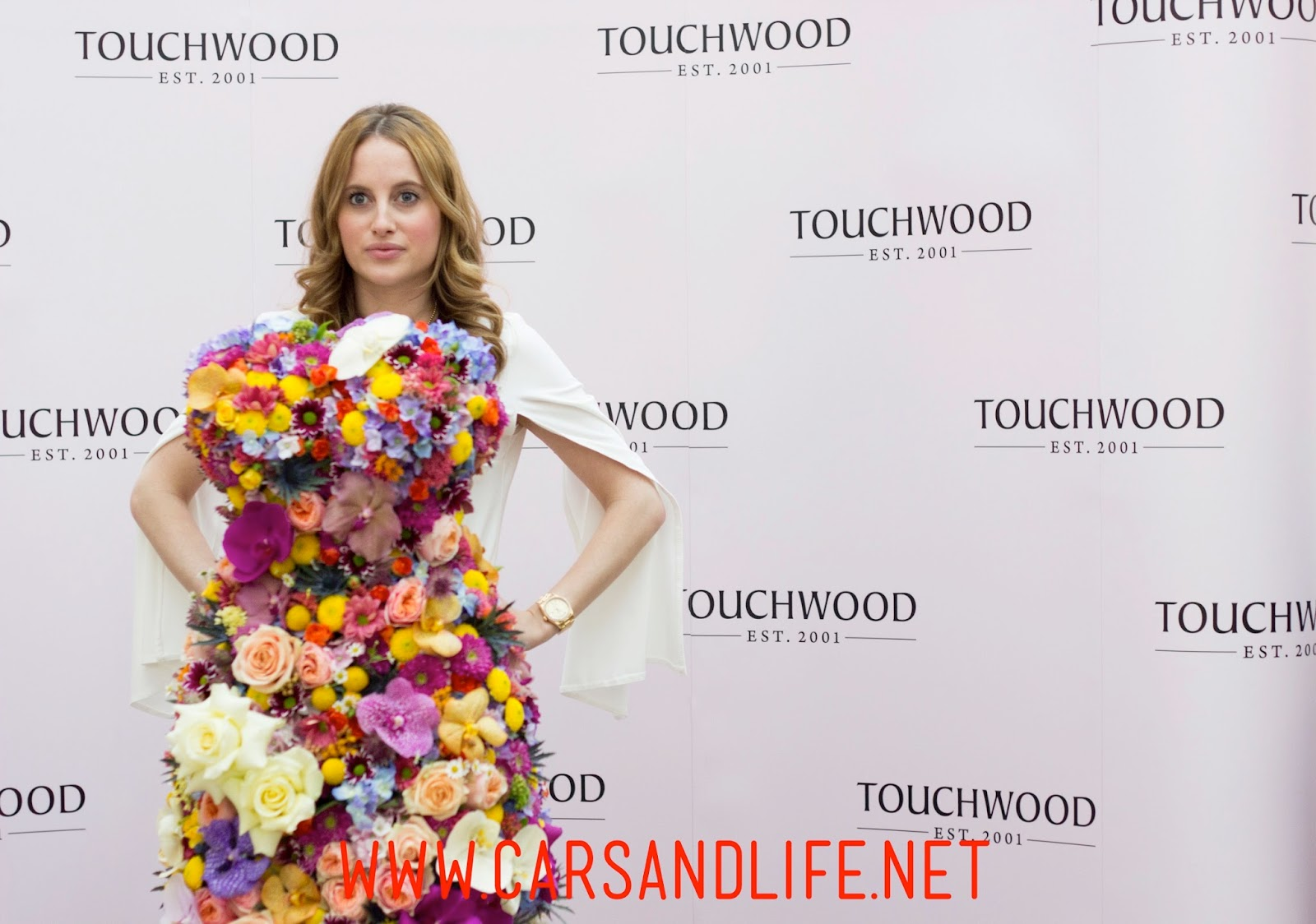 Chelsea Flower Show with Made in Chelsea Star Rosie Fortescue at Touchwood