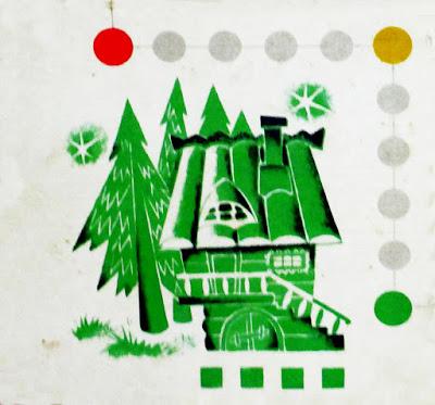 Игра бродилка игра-ходилка с фишками и кубиком СССР советская старая из детства