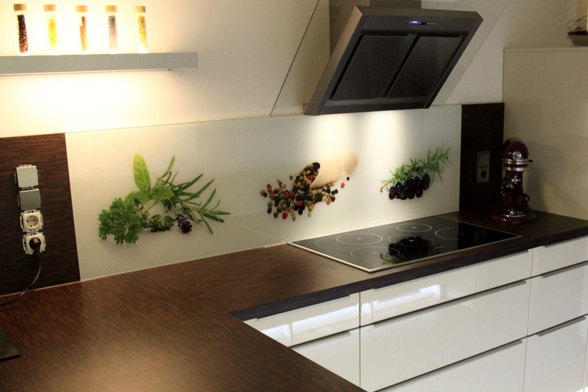 Glas Fliesenspiegel Küche | Küchenrückwand Nach Maß Spritzschutz ...
