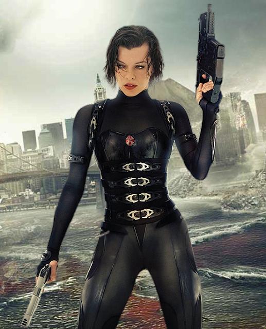 Milla Jovovich în Resident Evil: Retribution