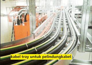 design kabel tray pada industri