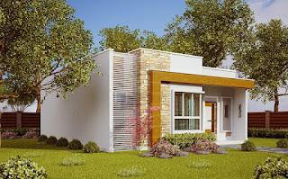 Denah Desain rumah minimalis sederhana 2019