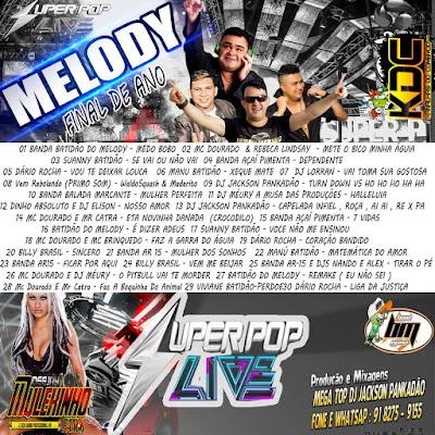 CD MELODY - SUPER POP FINAL DE ANO 2016