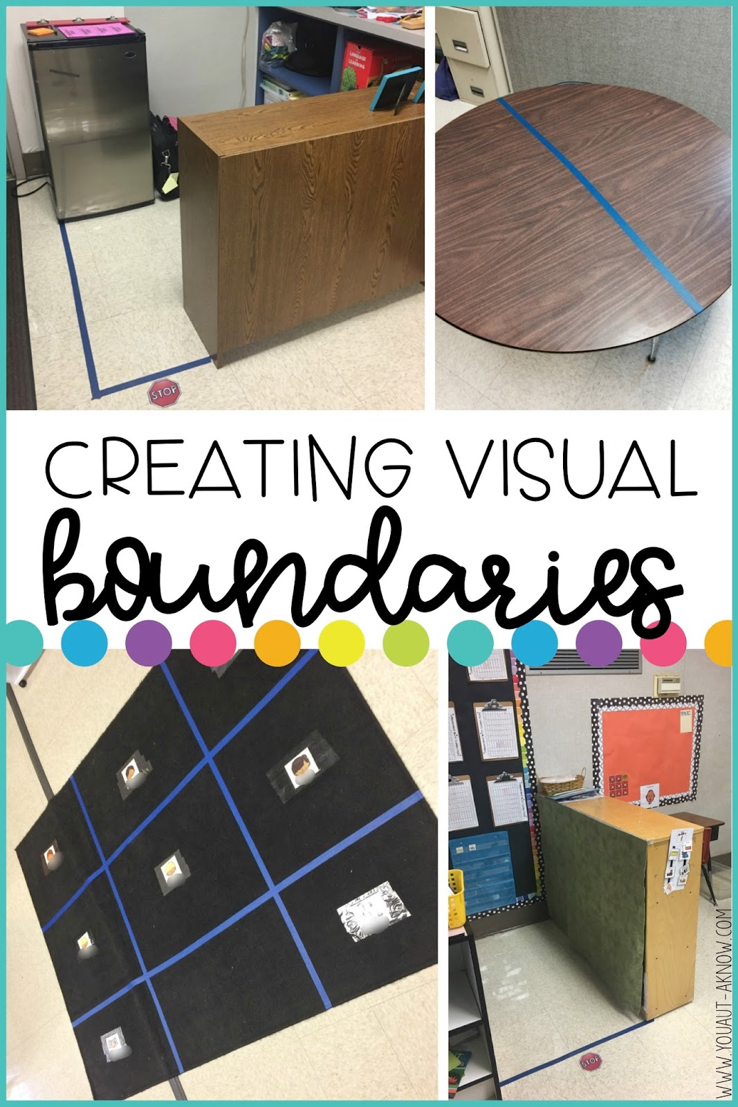 Creating Visual Boundaries In Your Classroom