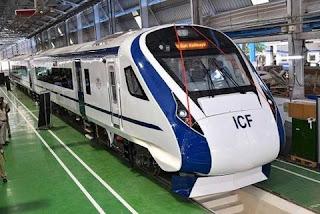 Chennai based ICF prepared Train-18, known as Vande Bharat Express