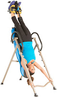 Up to 265 degrees inverting angle on Exerpeutic 225SL and 275SL Inversion Tables, image