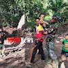 Satgas TMMD Bercengkrama Dan Bermain Bersama Anak-anak Desa Tompobulu