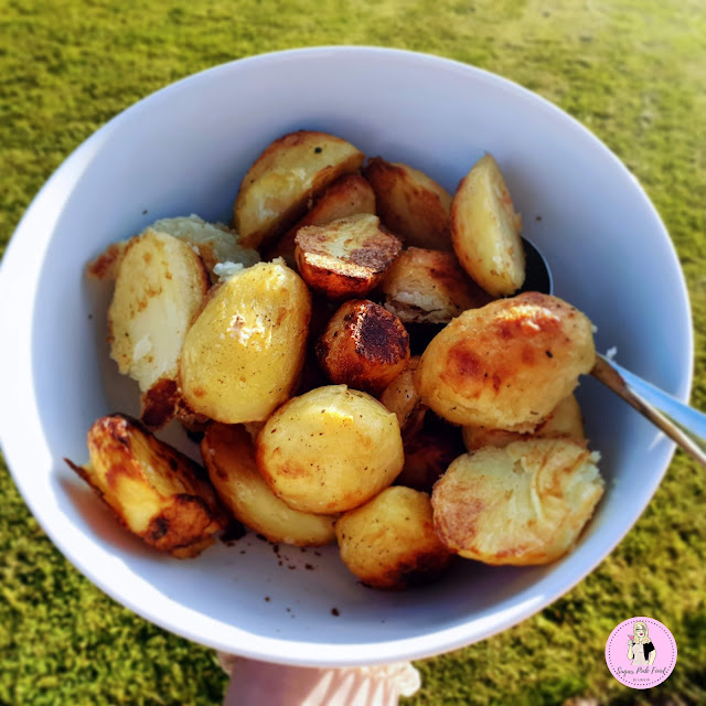 slimming world roast potatoes, syn free roast potatoes