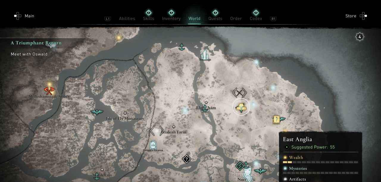 Ingot 35 Map