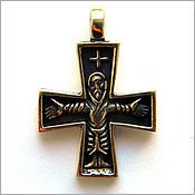 Крестик скандинавского типа россия симферополь бронза латунь