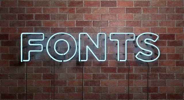 brand font psychology branding fonts typography